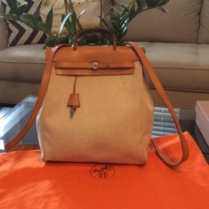 Authentic Hermes Her bag backpack
